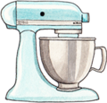 Kitchen Aid Baking Icon